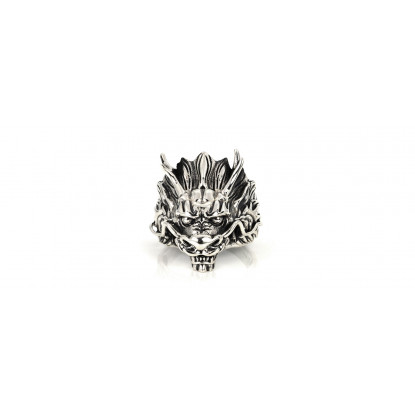 Men's Dragon Sterling Silver Ring