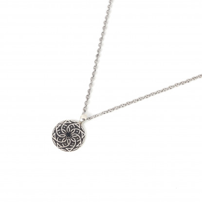Sterling Silver Necklace | Signature Pendant