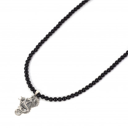 The Guardians Black Onyx Thorn Necklace