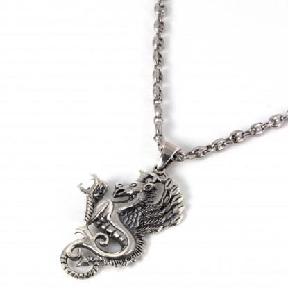 The Guardians Silver Thorn Necklace