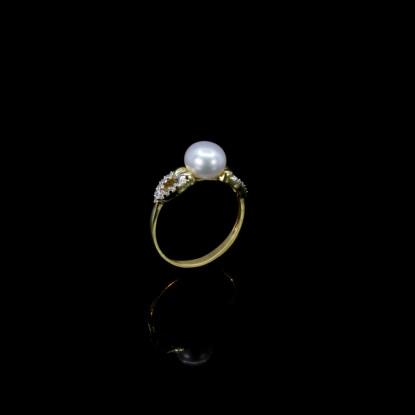Cœur Ring | Fresh Water Pearls | 18K Gold