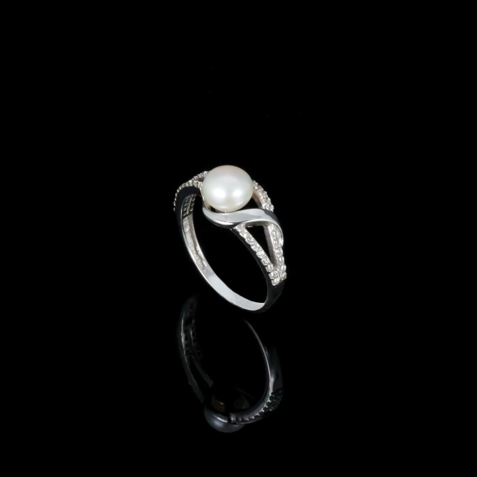 La Musique Ring | Fresh Water Pearls | 14K Gold