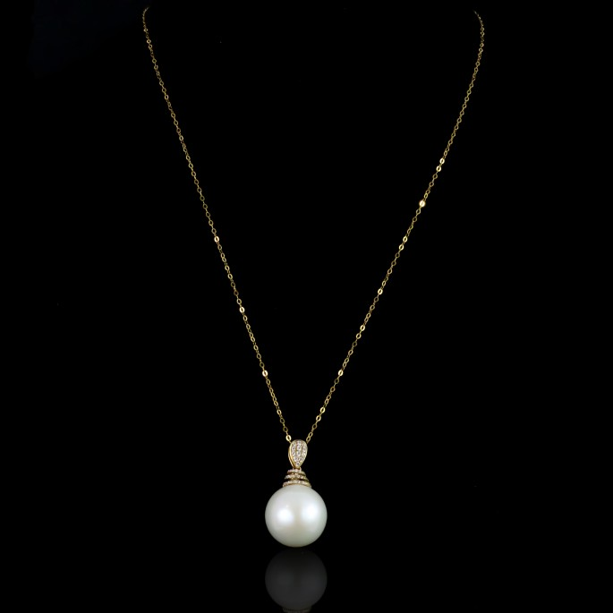 Abeille Necklace | South Sea Pearl |18K Gold
