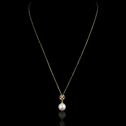 Trésor Necklace | Fresh Water Pearl |18K Gold