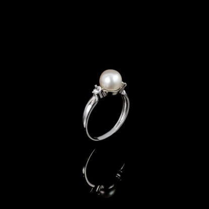 Classic Ring |Fresh Water Pearl | 14K Gold