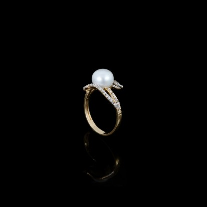 Sirène Ring | Fresh Water Pearls | Rose Gold 18K