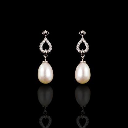Piques Earrings | Fresh Water Pearls | 18K Gold