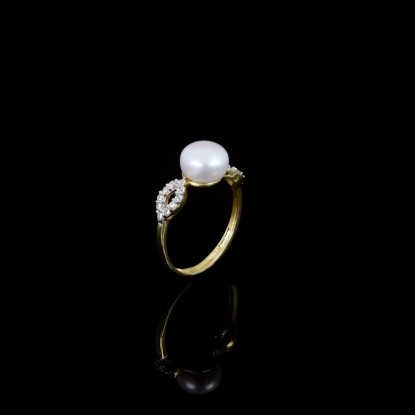 Étoile Ring| Fresh Water Pearls | 18K Gold