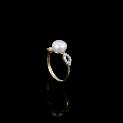 Étoile Ring| Fresh Water Pearls | 18K Gold