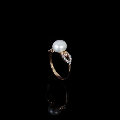 Piques Ring | Fresh Water Pearls | 18K Rose Gold