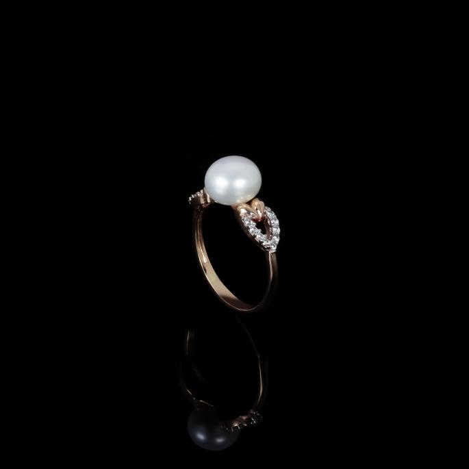 Piques Ring | Fresh Water Pearls | 18K Rose Gold