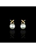 Cliché Earrings | Fresh Water Pearl | 14K Gold