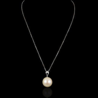 Emily Necklace | Fresh Water Pearl | 18K Gold