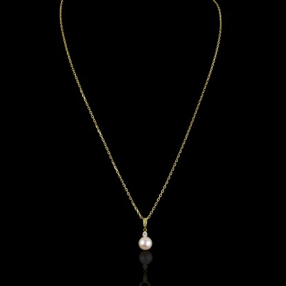 Cadeau Necklace | Fresh Water Pearl | 18K Gold