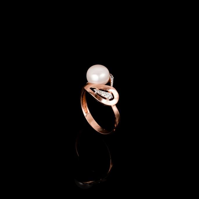 Paris Ring | Fresh Water Pearl | 18K Rose GoldCatalog Products
