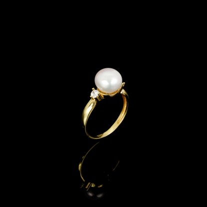 Cadeau Ring | Fresh Water Pearl | 18K Gold