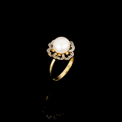 Printemps Ring | Fresh Water Pearls | 18K Gold