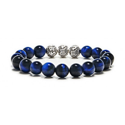 Blue Tiger Eye 3 beads
