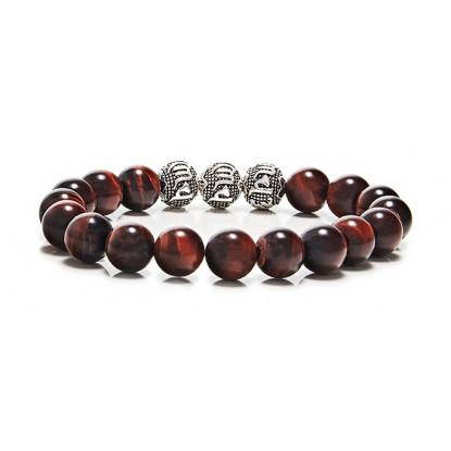 Red Tiger Eye 3 beads