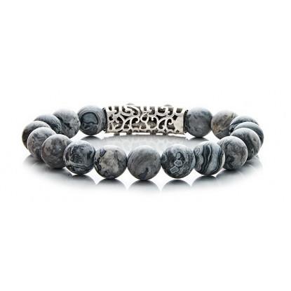 Grey Leopard Skin Jasper