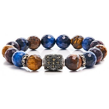 Tri Faceted Tiger Eye