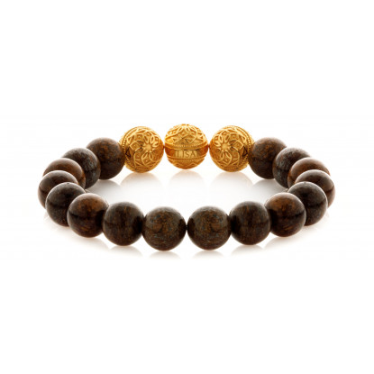 Bronzite Triple Gold Touch