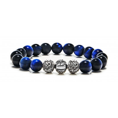 Blue Tiger Eye 3 beads