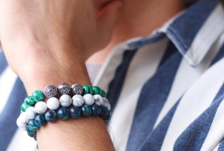 Why should you wear our men beaded bracelets?
